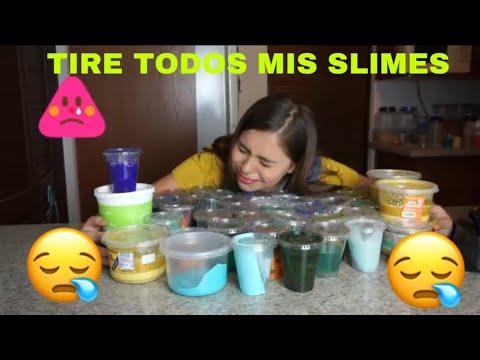 TIRÉ A LA BASURA TODOS MIS SLIME  / Michelle Almaguer