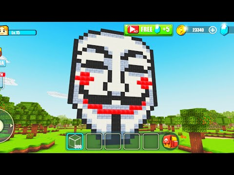 World Building Craft Gameplay #192 | Anonymous Mask 🎭