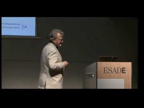 Richard Barrett - Spirituality and Creativity in Management, ESADE