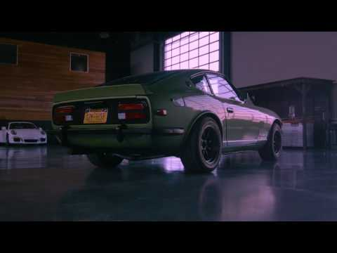 CCC's 240Z showing off its Rebello Racing 3 0 engine - YouTube