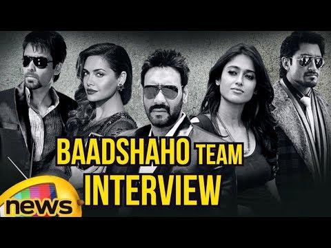 Baadshaho Team Interview | Ajay Devgn, Emraan Hashmi, Esha Gupta, Ileana D'Cruz & Vidyut Jammwal
