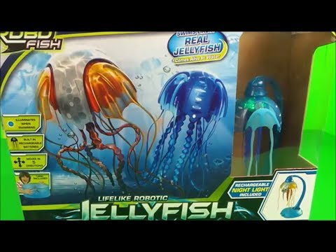ZURU ROBO FISH Lifelike Robotic Jellyfish Unboxing