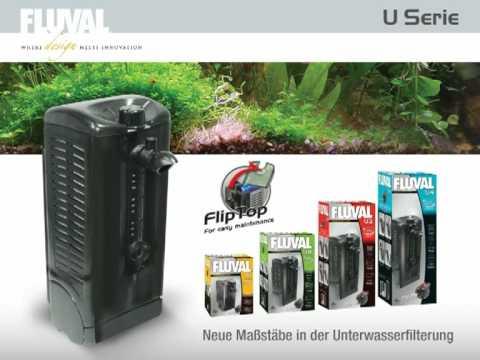 Gut gemocht FLUVAL U Serie Innenfilter - YouTube KQ62
