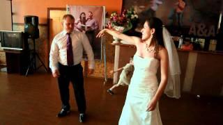 Первый танец молодых, свадьба в Черкизово. Коломна