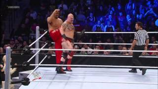 The Great Khali vs. Tensai: SmackDown, Jan. 18, 2013