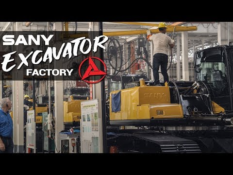 Sany Excavators  [ Sany Heavy Industry ]