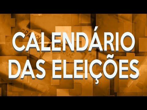 Veja as principais datas do calendário eleitoral de 2018