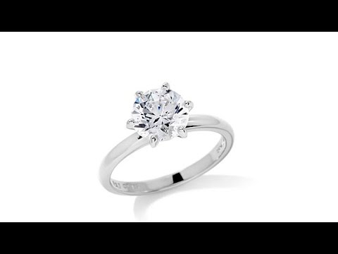 2.2ct Absolute Princess or Round Solitaire Ring. https://pixlypro.com/5YVIlLn