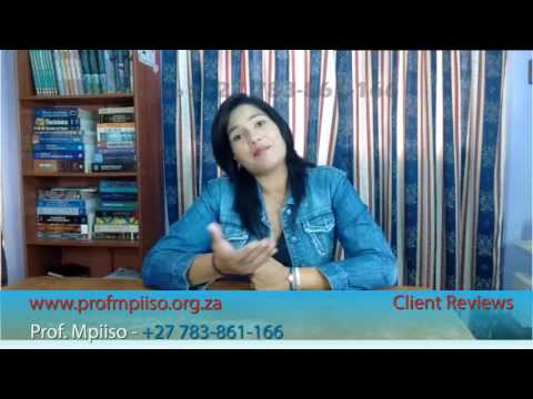 Love spells really work By Prof Mpiiso Testimonial From Cape town