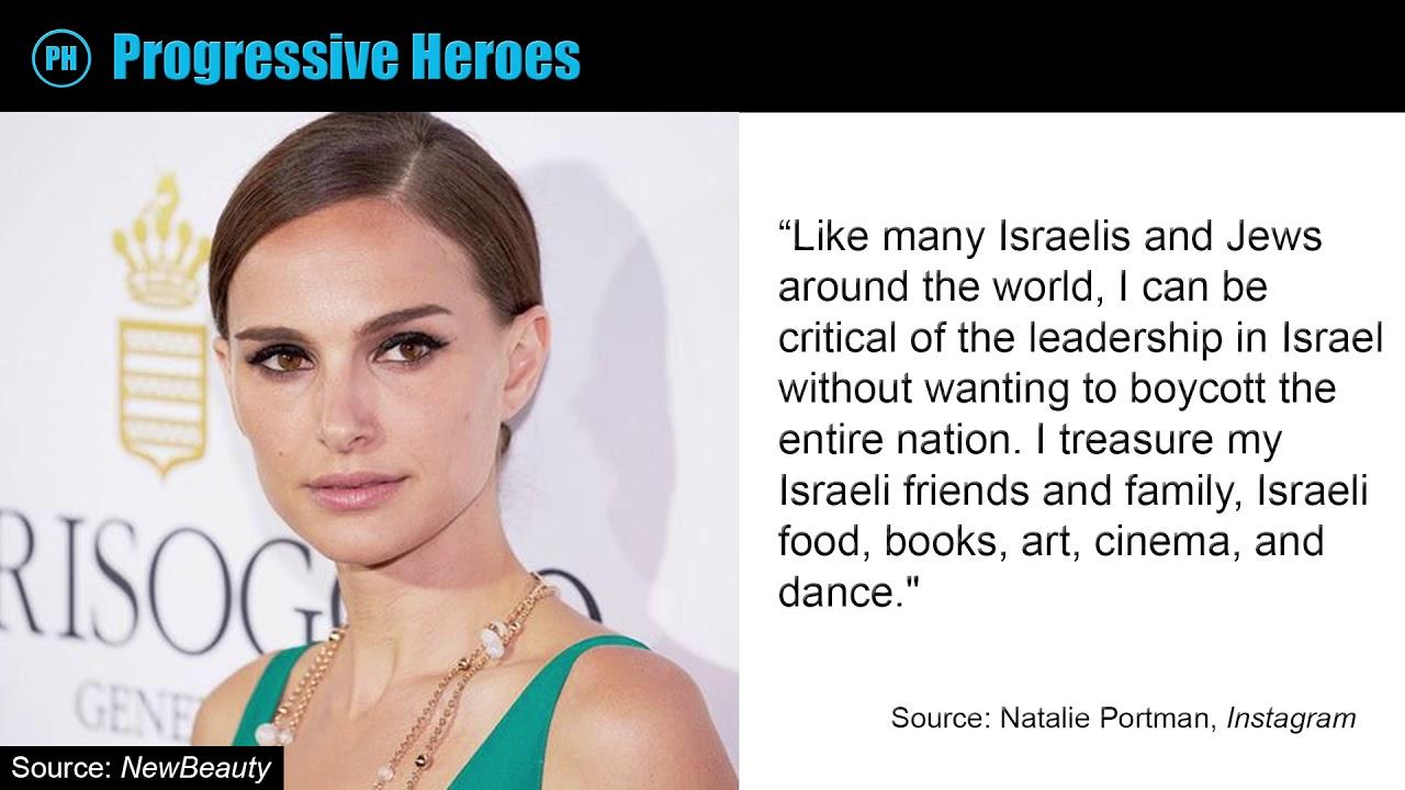 Natalie Portman Stands Up For Palestinians