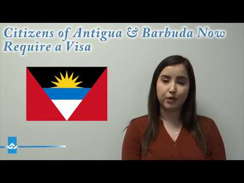 Citizens Of Antigua And Barbuda Now Require A Visa