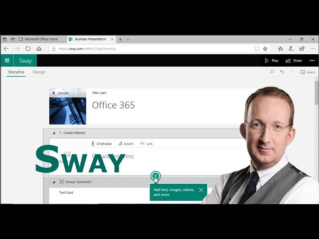 Introduction to Office 365 Sway