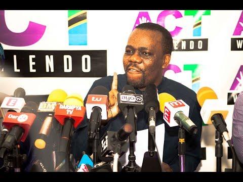 LIVE: Zitto Kabwe kaita Waandishi wa Habari, tazama anachoongea