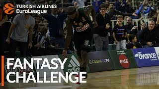 Turkish Airlines EuroLeague Regular Season Round 13: Fantasy Challenge