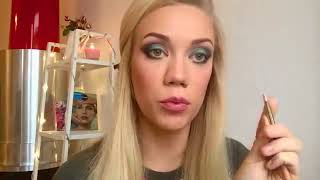Елена Крыгина   Уроки макияжа   'Новогодний макияж 2016
