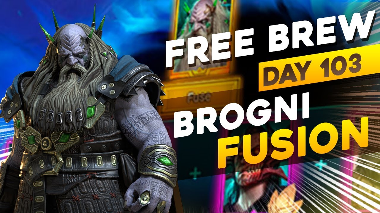 Brogni Fusion - ITS A TOUGH ONE! | DAY 103 F2P | RAID SHADOW LEGENDS