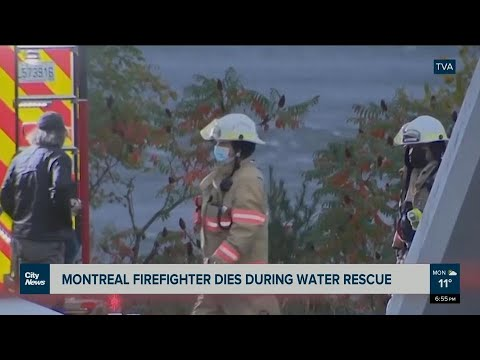 Montreal firefighter dies during water rescue