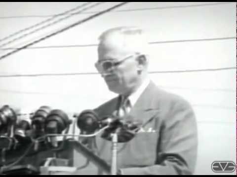 Rare Harry S. Truman Whistlestop Speech