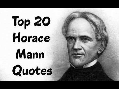 Horace Mann Quotes Magnificent Top 48 Horace Mann Quotes Author Of On The Art Of Teaching YouTube