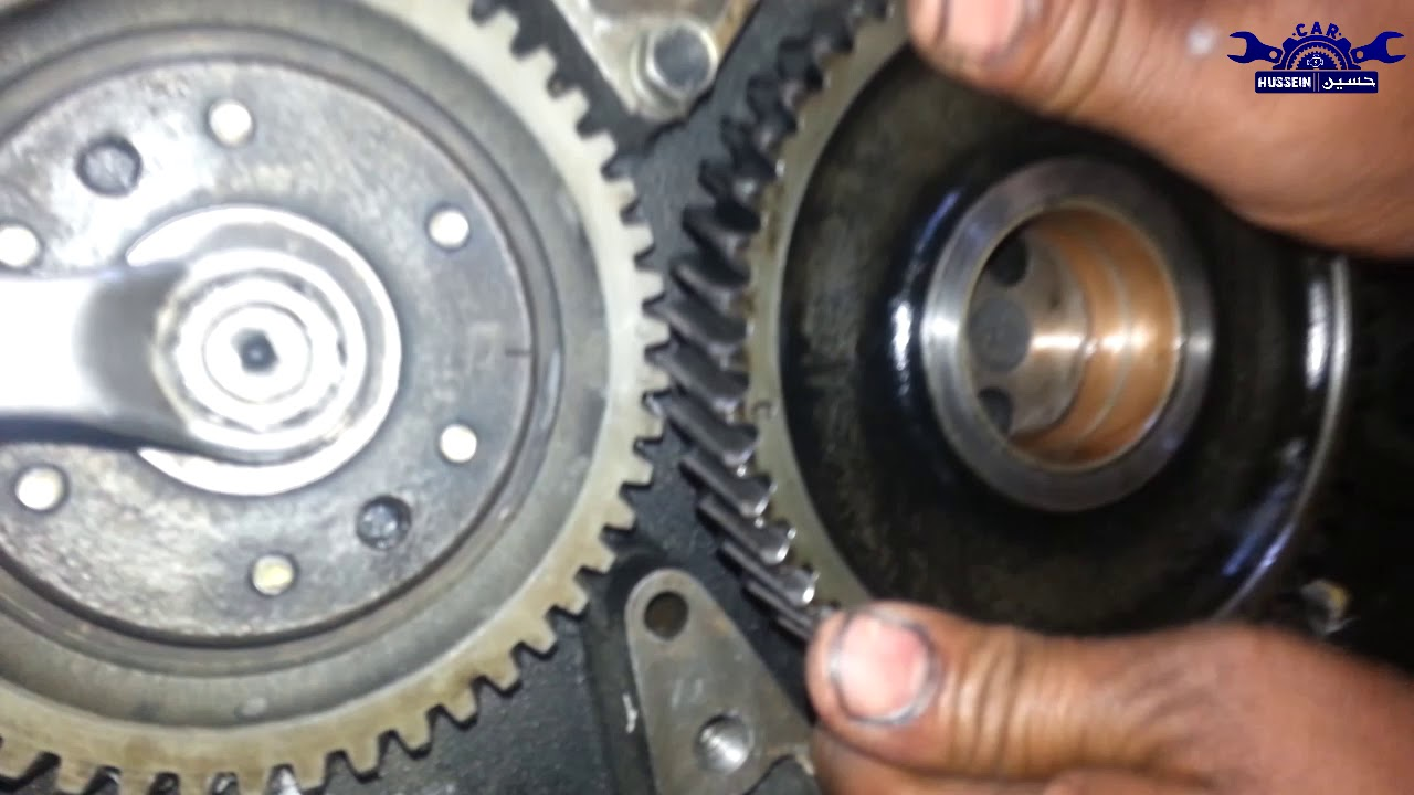 Isuzu 4be1 Engine Timing Marks