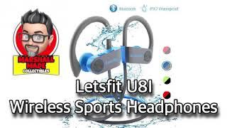 Letsfit U8I Wireless Sport Bluetooth Headphones Review