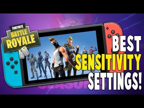 Best Fortnite Nintendo Switch Sensitivity Settings!! – (BETTER AIM) –  Fortnite Battle Royale
