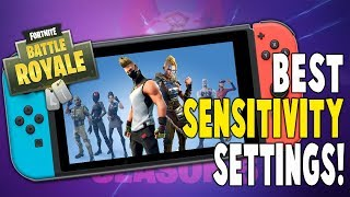Best Fortnite Nintendo Switch Sensitivity Settings!! - (BETTER AIM) - Fortnite Battle Royale