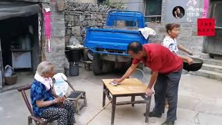 60岁的女婿真孝顺,给94岁的岳母端饭又递馍,你这样做过吗? 【盧保貴視覺影像】