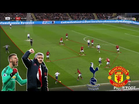 Solskjær passes the test! | Tottenham-United Tactical Highlights