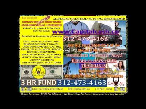 BAD CREDIT 1 DAY FUNDING BUSINESS CREDIT  No PG Funding Corp Builds Credit Repair PROVEN GUARANTEED