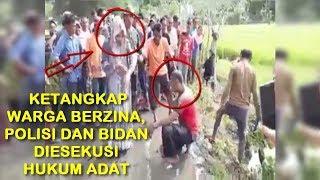 HEBOH...!! POLISI DAN BIDAN BERZINA KETANGKAP WARGA DI ACEH