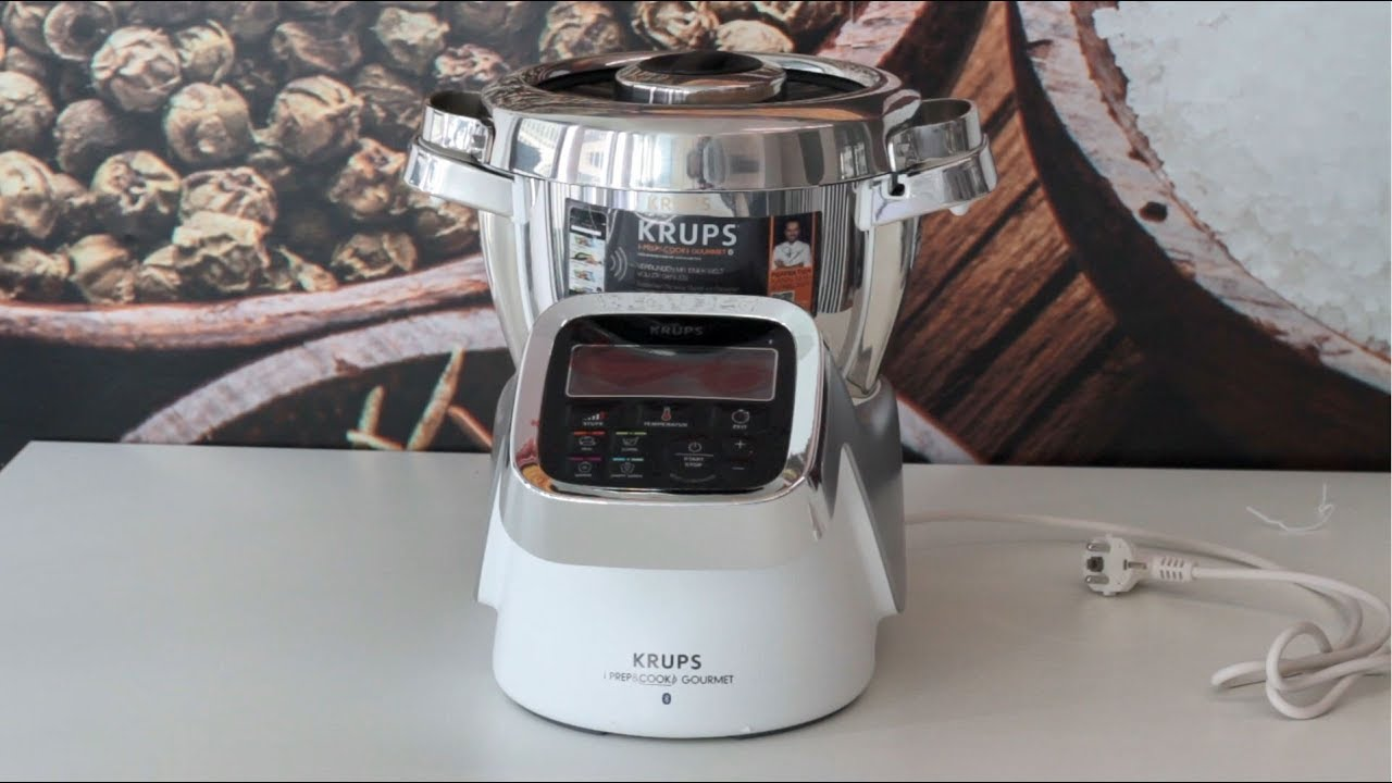 Krups I Prep Cook Gourmet Kuchenmaschine Test Youtube