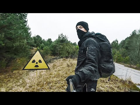 Winter Journey Across Chernobyl Exclusion Zone | Part 1