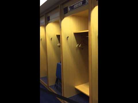 Giants Draft Party 2015 Locker Room Tour