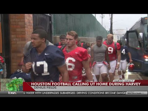 Houston football calling Texas home during Harvey