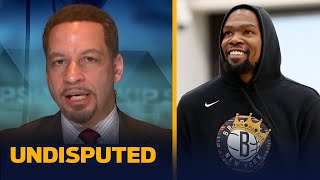 Chris Broussard has high expectations for Kevin Durant's return from injury | NBA | UNDISPUTED