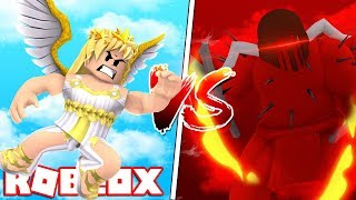 TURN AN ANGEL OR a DEMON into ROBLOX!