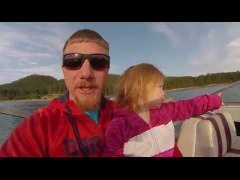 Fishing for Lake Trout Pactola Res.