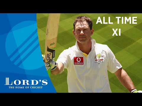 Hayden, Lara & Ambrose - Ricky Ponting's All Time XI