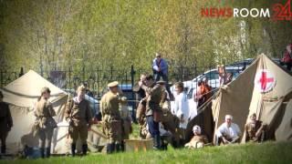 NEWSROOM24:Реконструкция боя Великой Отечественной войны в Нижнем Новгороде