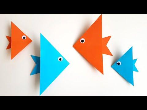 Оригами самые простые схемы для детей