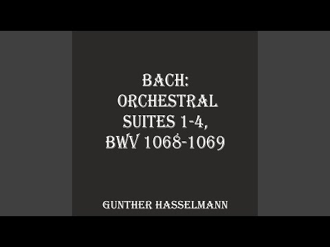 Orchestral Suite No.1 In C Major, BWV 1066: II. Courante