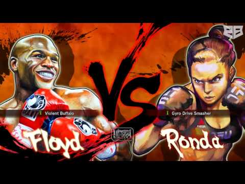 street fighter iv mayweather vs rousey edition youtube