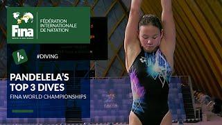 Pandelela Pamg - Top 3 Dives | FINA World Championships