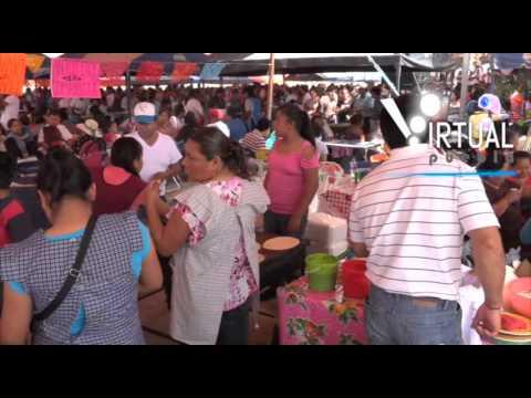 Sexta Feria de la gordita 2016 en La Resurrección Puebla