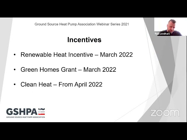 GSHPA Webinar - Heat Pumps and Installers   The Road Ahead