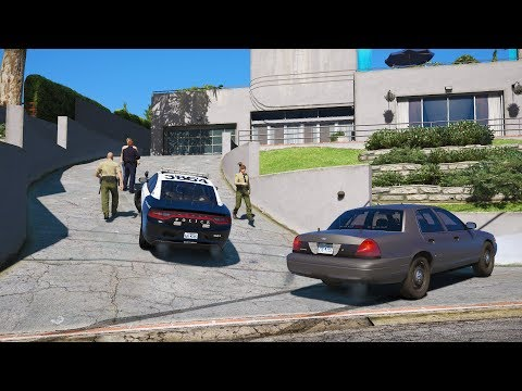 LSPDFR - Day 694 - Woman calls 911 for active burglary