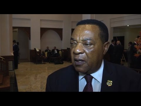 Morocco-Tanzania / Foreign minister Augustine Mahiga