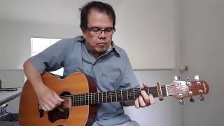 Tagpuan (Moira Dela Torre) Fingerstyle Cover on Walden Acoustic Guitar