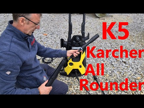 Karcher K5 Pressure Washer set up and Review